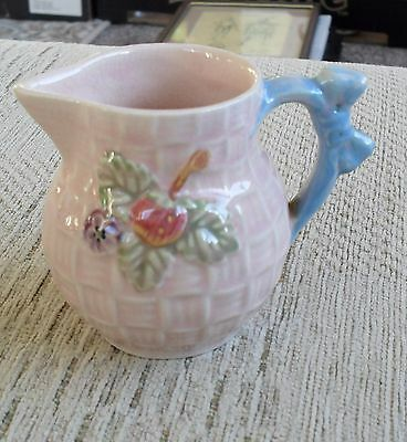 Lovely Vintage Staffordshire Shorter & Son Pink Jug