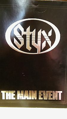 Styx -  Main Event Tour Book, 1978