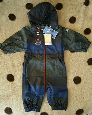 BNWT Baby Boys Next Waterproof All in One Coat. Size 3-6 months.