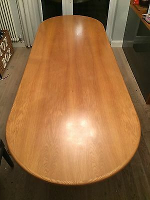 Boardroom / Conference / Dining Table Light Oak Veneer, 3m x 1m. Seats up to 10.