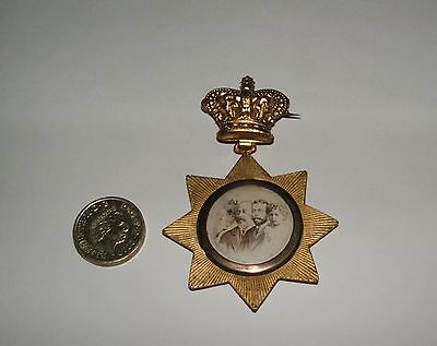 Rare Antique Diamond Jubilee Of Queen Victoria Medal 1897