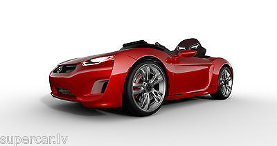 HENES Broon F830 RED with Tablet PC 12V Electric Ride on Kids Car RC