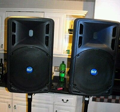 Pair RCF Art 325A Series Active Powered Speakers