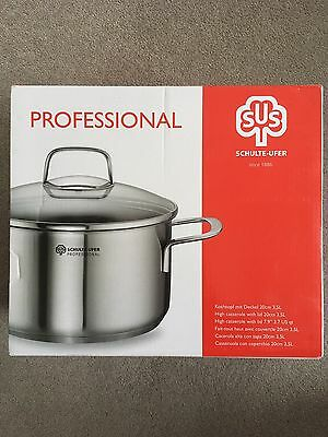 Schulte-Ufer Casserole With Lid, 20cm 3.5 L