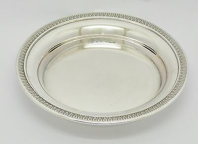 """Beautiful French Solid Silver 800 Dish Champagne Wine Bottle Coaster? """"d & Cie"""""""