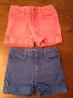 Nautica Girls Shorts Bundle - Age 5 - (2 pairs) Lovely condition