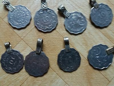Vintage Kuchi coins x 20 tribal belly dance