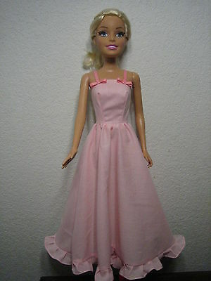 """Barbie 28"""" Best Fashion Friend dress gown CLOTHING clothes outfit OOAK Just Fun"""