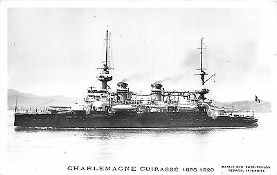 MARINE GUERRE  CHARLEMAGNE CUIRASSE MARIUS BAR    Réf perso 020C09