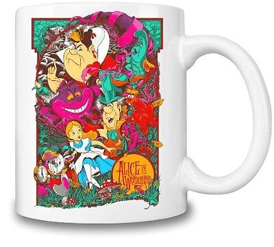 Alice In Wonderland Inspired Picture Mug .....NEW !!!!