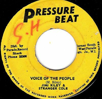 Jimi Riley & Stranger Cole - Voice Of The People