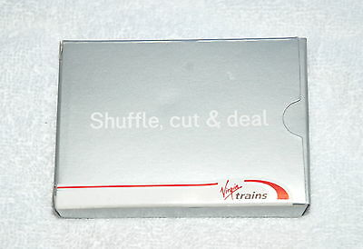 Virgin Trains Shuffle, Cut & Deal Playing Cards Boxed Sealed New