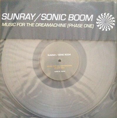"Sunray / Sonic Boom ‎– Music For The Dreamachine (Phase 1) 12"" VINYL SPACEMEN 3"
