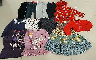 Bundle of 14 pieces of clothes girls 2-3 years