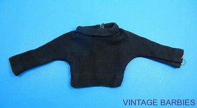 American Character Tressy Doll Black Shirt Excellent ~ Vintage 1960's