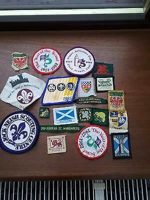 Scout Badges Assorted