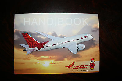 Marketing Brochure Air India Hand Book Dreamliner Boeing 787