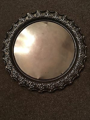 Lovely Brass Vintage Decorative Plate. Collectors Heavy