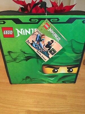 Lego Ninjago Battle Arena Plus Spinner Storage Case New And Tagged