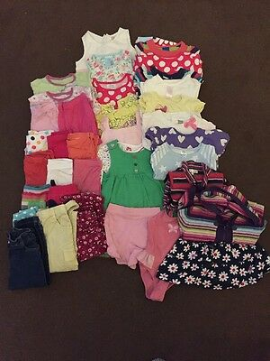 Bundle Of Girls Clothes Age 18-24 Months - 33 Items