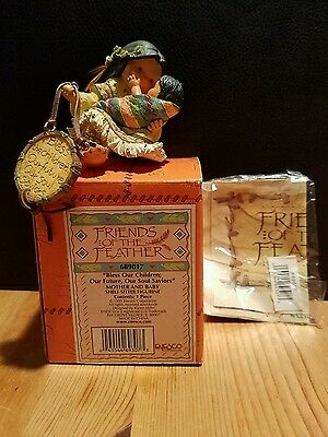 Enesco Friends Of The Feather Retired Karen Hahn Bless Our Children Future Soul