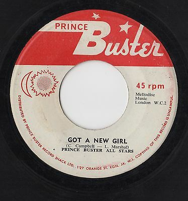 Larry Marshall - Got A New Girl / Rough Rider - Prince Buster