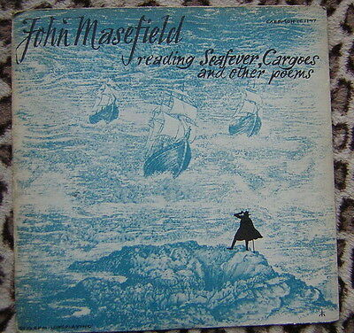 John Masefield - Reading Seafever, Cargoes and other Poems Vinyl LP