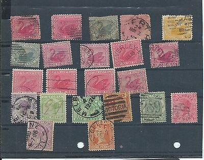Western Australia & Victoria. Small used lot. Variable condition (Y467)