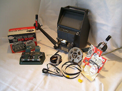 Yashica 8Mm Film Editor & Arrow Splicer, Reel Clips & More See More Combine P&p