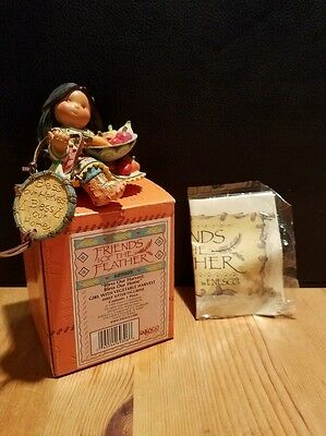Enesco Friends Of The Feathers Retired Karen Hahn Bless Our Harvest # 689009