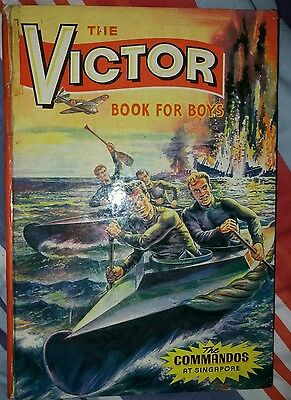 The Victor Book For Boys 1965 - Vgc