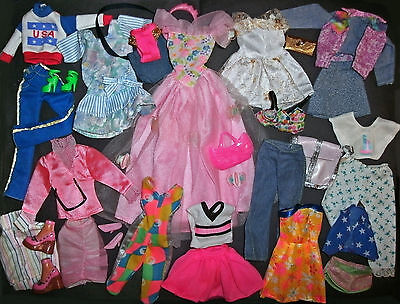 Barbie, Sindy Doll clothes lot: 31 Mix & Match items - ALL GOOD condition