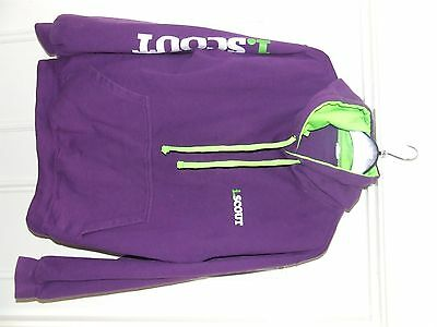 iScout Hoodie Purple Size Small