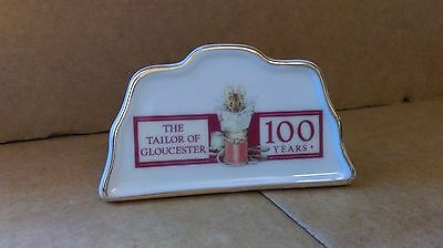 Tailor of Gloucester 100th anniversay sign