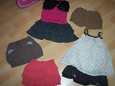 lot fille 4 ans jupe , robe orchestra