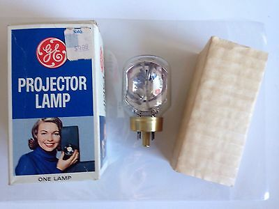 Vtg G.E. General Electric DJL 8mm PROJECTOR LAMP LIGHT BULB 150W NEW Old Stock