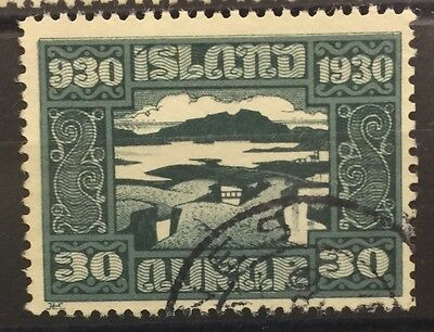 1930 Iceland SG165 30a Parliament used