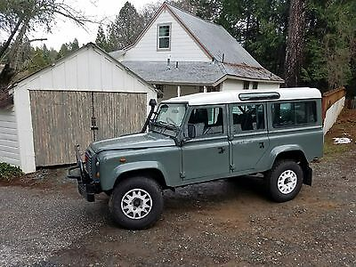 1980 Land Rover Defender County Station Wagon 1985 Land Rover 110