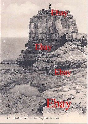 PPC Louis Levy LL11 Portland near Weymouth. The Pulpit Rock c1900