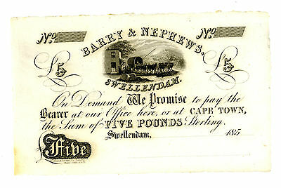 South Africa … P-N.L( Hern # 29 ) … 5 Pounds … 185x … *UNC*  Reminder.