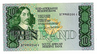 South Africa … P-120c … 10 Rand … ND(1982-85) … *UNC*