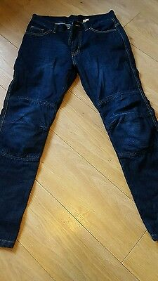 Denim Men's Motorcycle Motorbike ,paded  Trousers jeans with protective pads