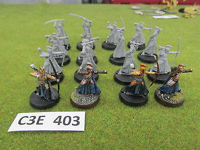 LoTR Lord of the Rings 16 Warriors of the Last Alliance - mixed weapons