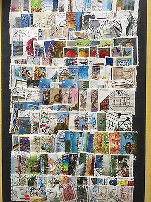 Large Lot Germany Deutschland  Stamps All Different Used