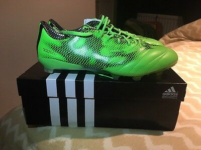 Adidas F50 Green Men's FG Football Boots - Size 9 - BNWT - RRP £160