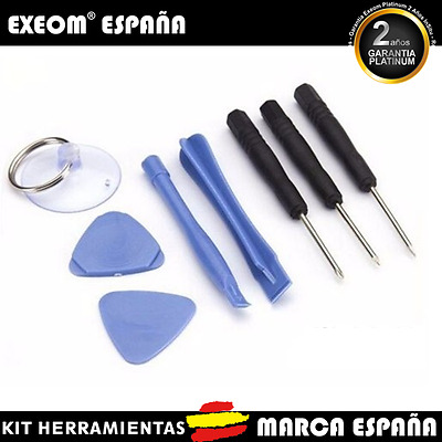 Kit De Herramientas Para Iphone Samsung Tablet Movil Destornillador Apertura