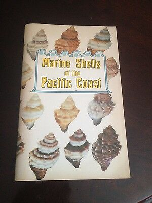 Marine Shells of the Pacific Coast guidebook 1973
