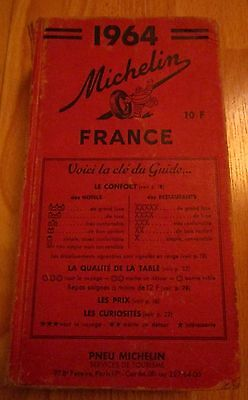 Guide Rouge Michelin France 1964