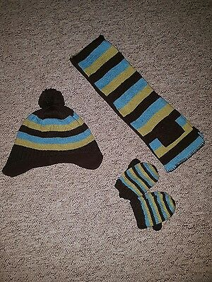 boys next hat,scarf and gloves set from next.age 12-2 yrs.