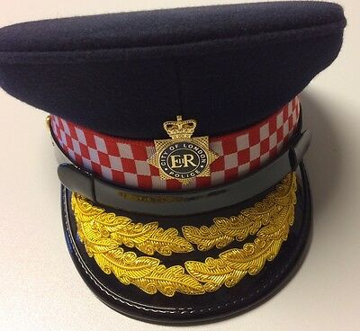 High Quality Miniature Police Cap Commissioner London City 2/3rd scale RARE